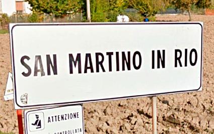SAN MARTINO IN RIO (RE) – Via Dell'Artigianato